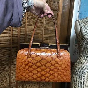 Vintage Exotic snake 🐍 bag / purse / handbag boho